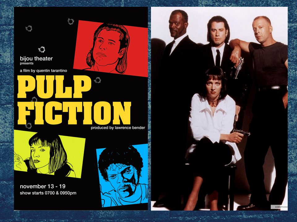 Pulp Fiction is a 1994 American crime film directed by Quentin Tarantino In parallel, three stories unfold.