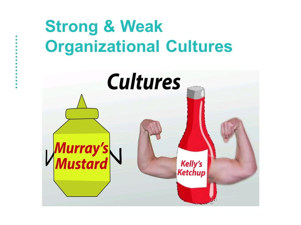 Strong & Weak Organizational Cultures