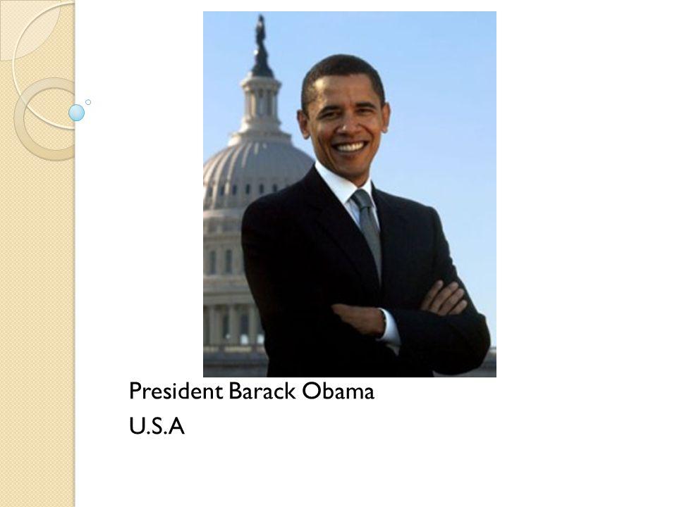 President Barack Obama U.S.A