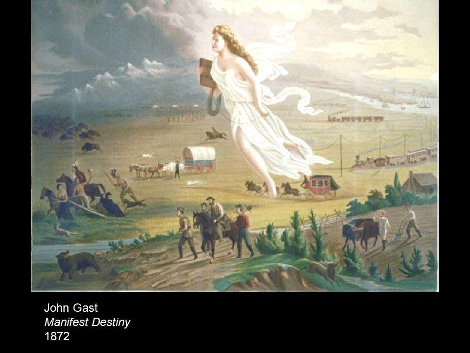 John Gast Manifest Destiny 1872