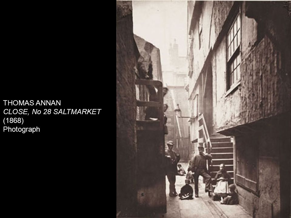 THOMAS ANNAN CLOSE, No 28 SALTMARKET (1868) Photograph