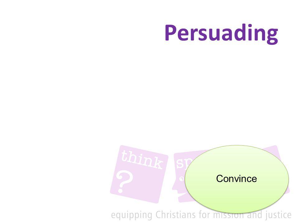 Persuading Convince