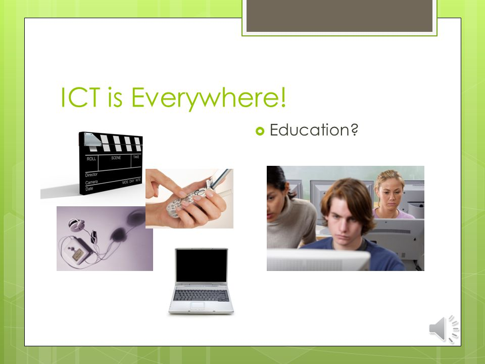 Introduction: ICT A diverse set of technological tools and resources used to transmit, store, create, share or exchange information.
