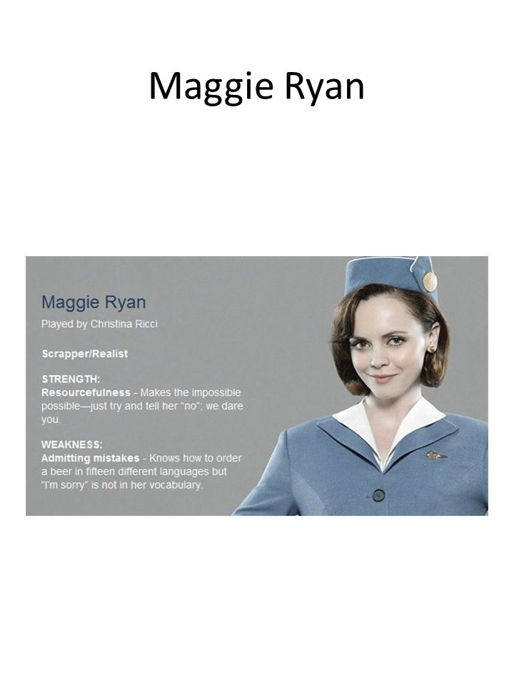 Maggie Ryan
