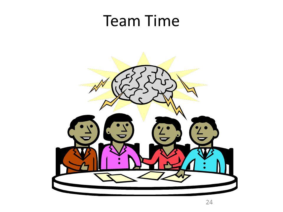 Team Time 24