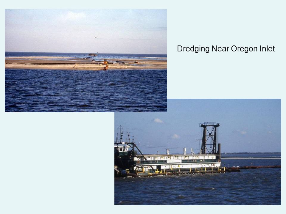 Dredging Near Oregon Inlet