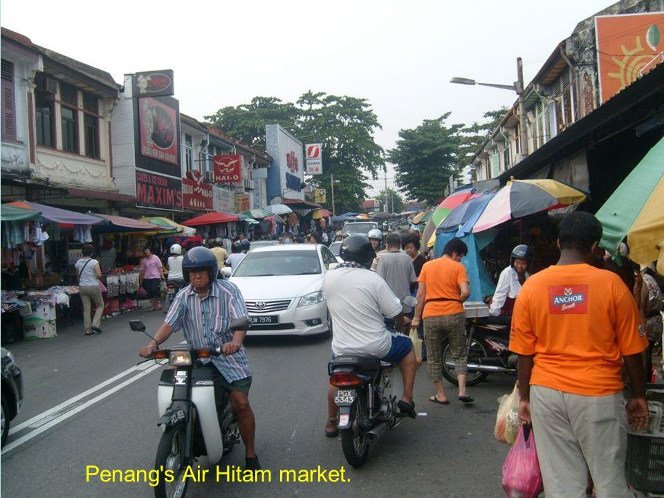 Jonker Walk in Malacca.
