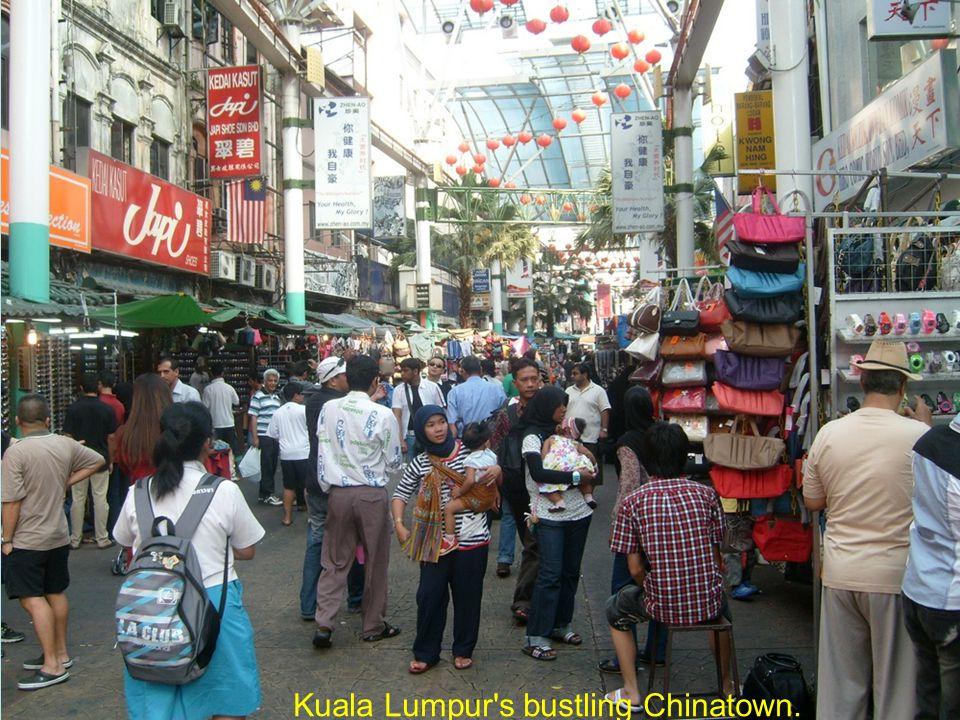 Penang s Air Hitam market.