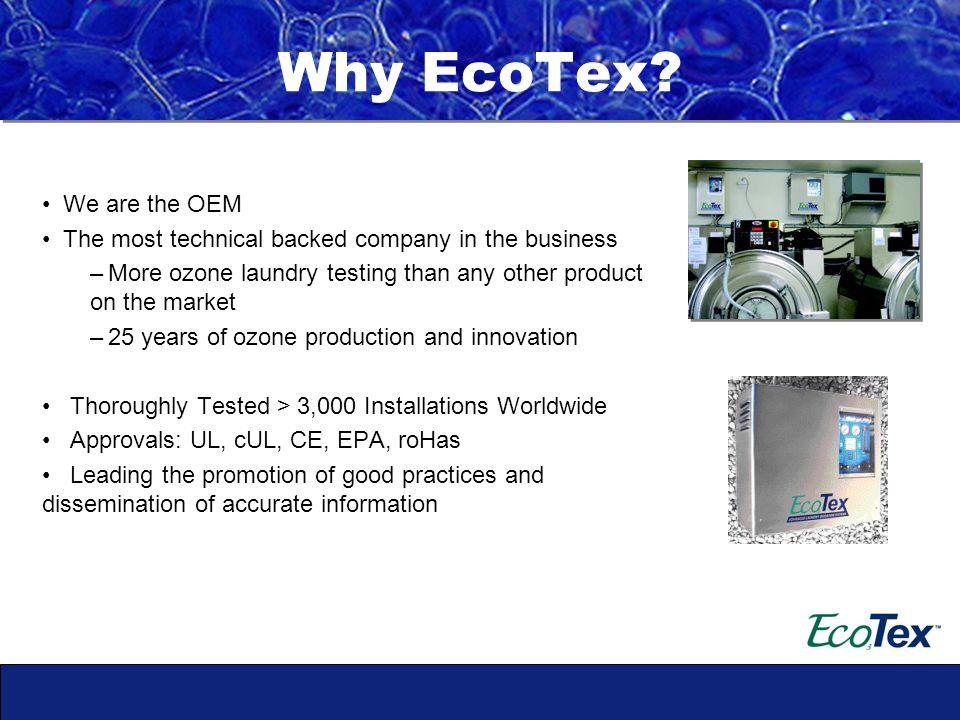 Why EcoTex.