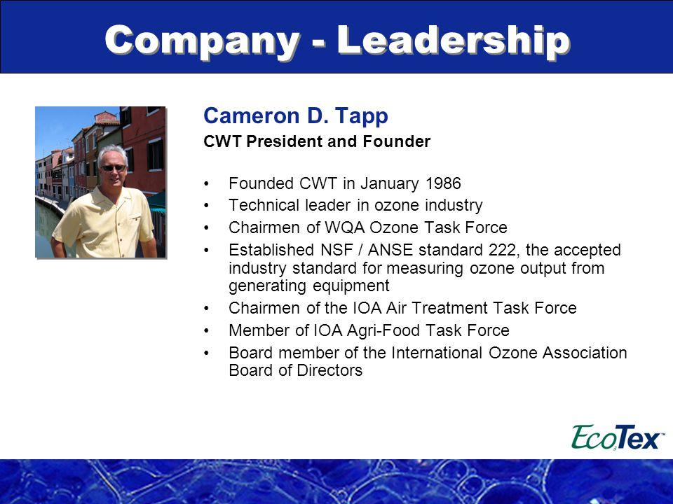Company - Leadership Cameron D.