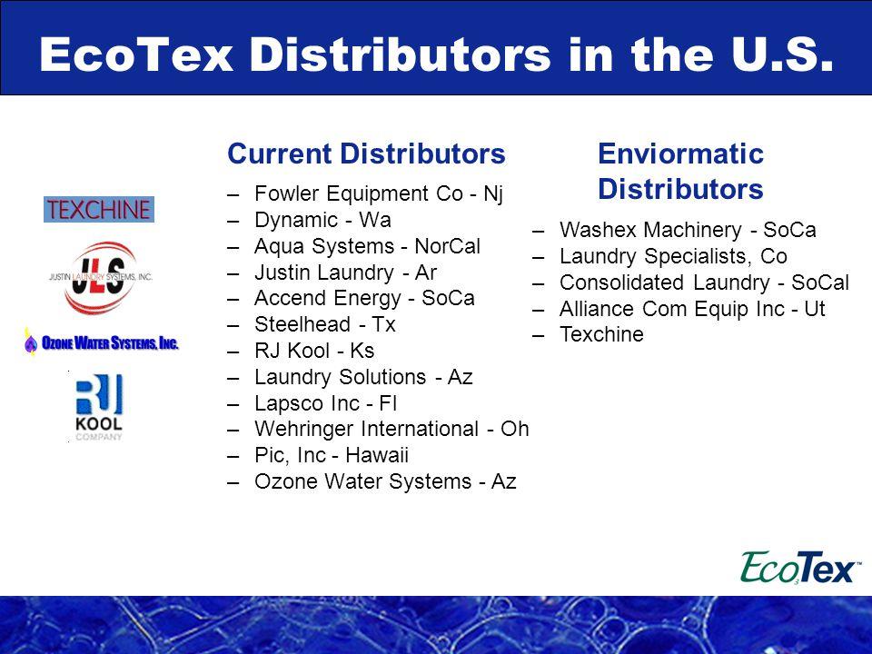 EcoTex Distributors in the U.S.