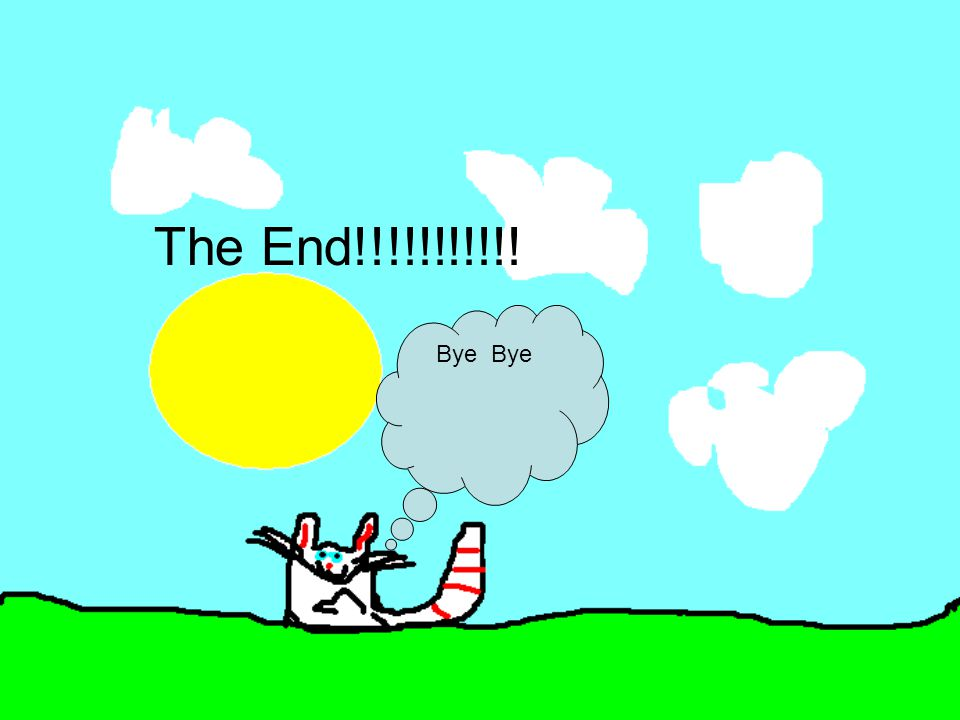 The End!!!!!!!!!!! Bye
