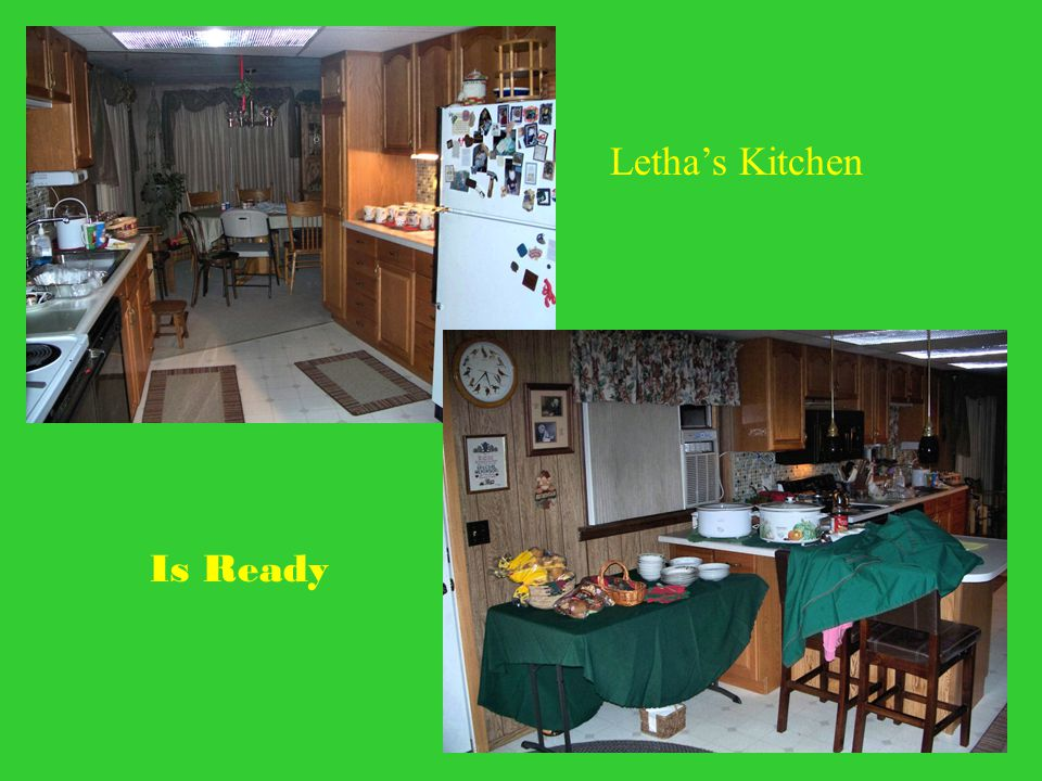Letha's Kitchen Is Ready