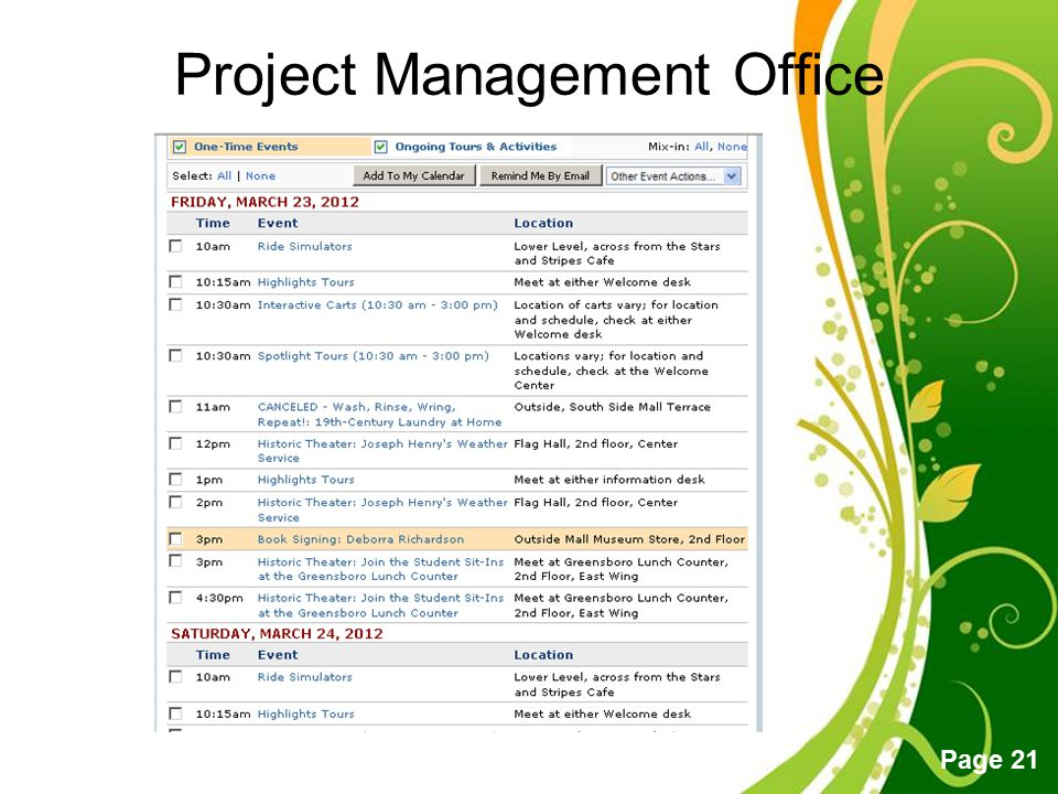 Free Powerpoint Templates Page 21 Project Management Office