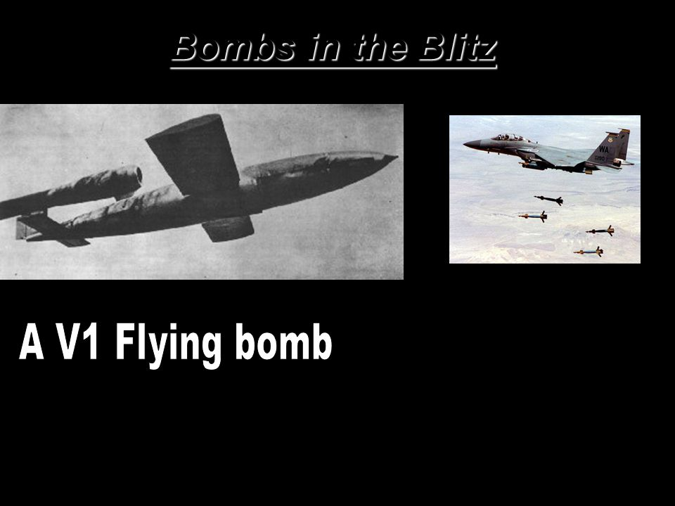 Bombs in the Blitz