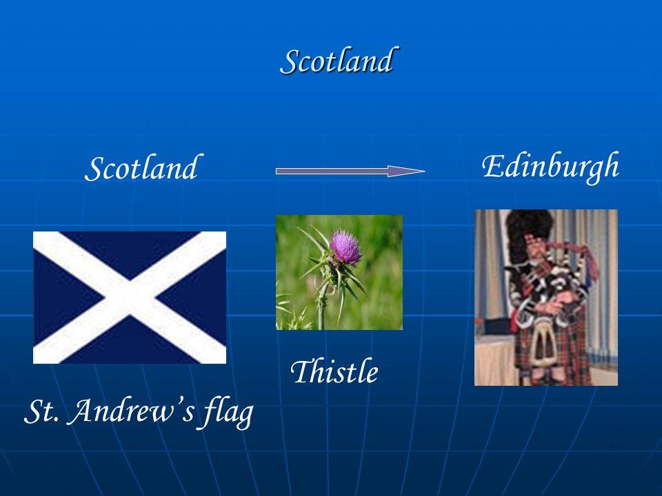 Scotland Scotland Scotland Edinburgh Thistle St. Andrew's flag