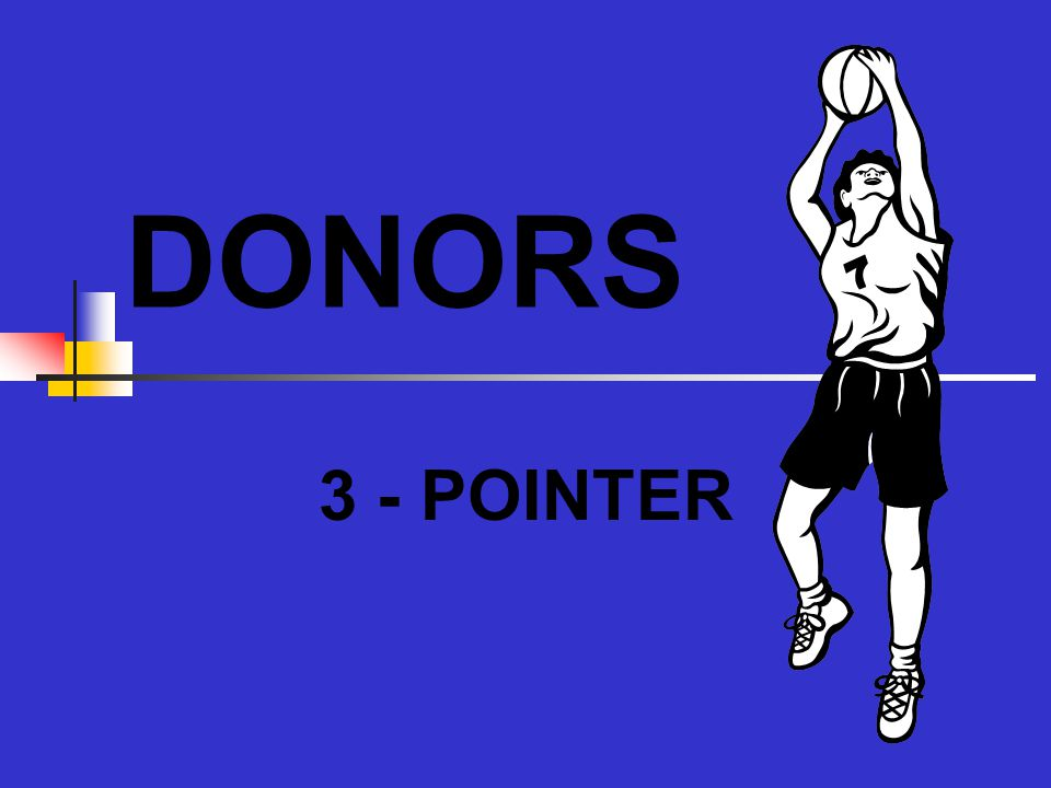DONORS 3 - POINTER