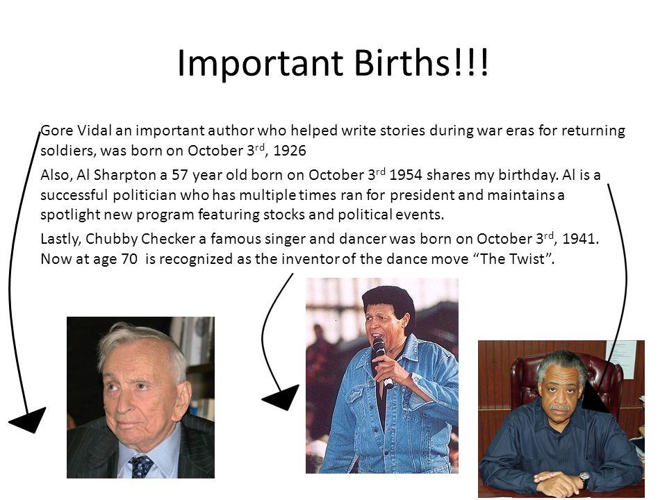 Important Births!!.