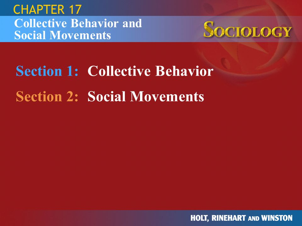 SECTION 1 Question: What are some examples of the various types of collective behavior.
