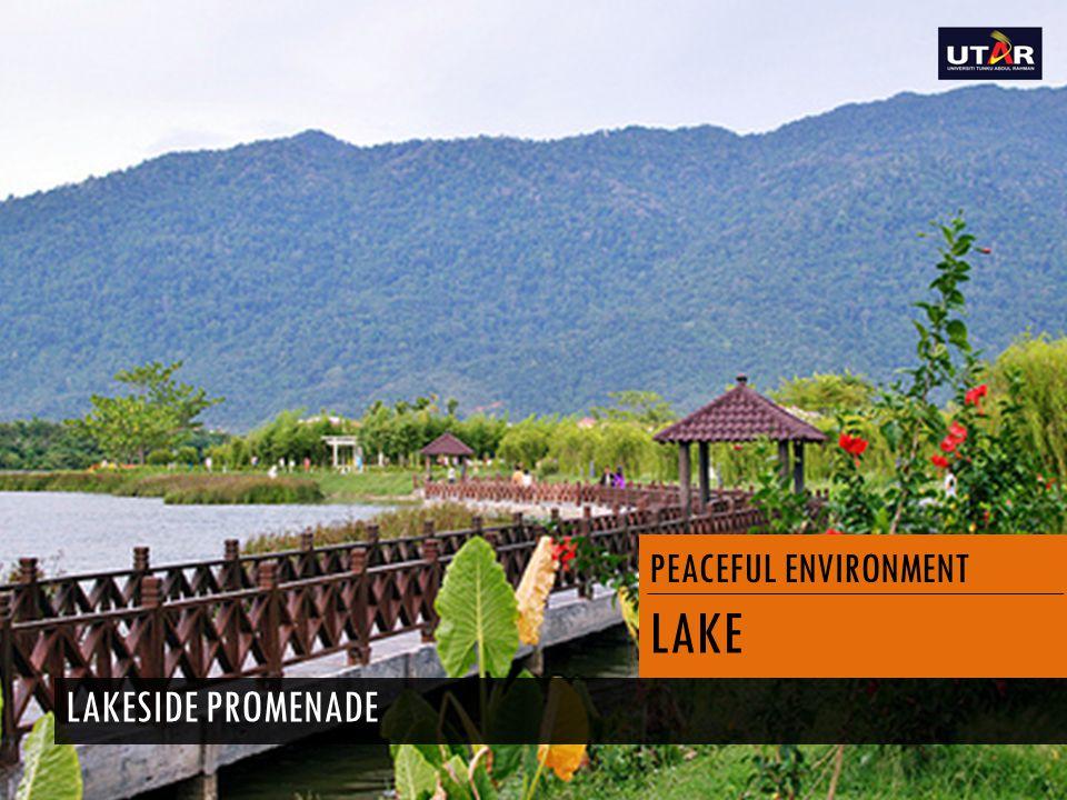 PEACEFUL ENVIRONMENT LAKE LAKESIDE PROMENADE