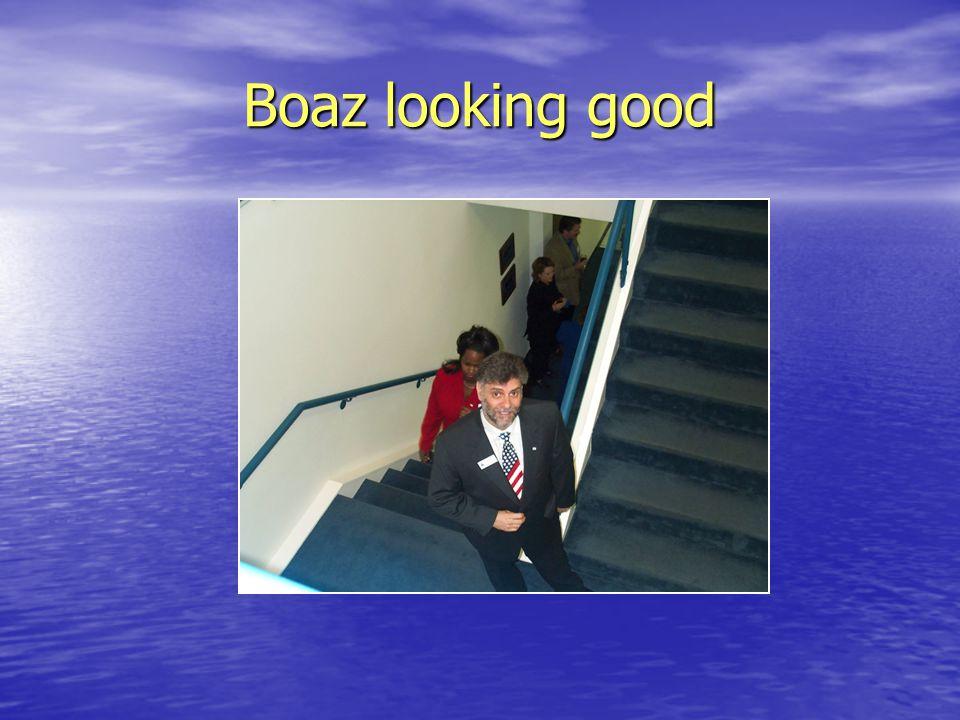Boaz looking good