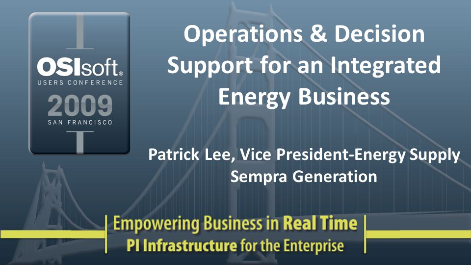San Diego Gas & Electric Southern California Gas Sempra Generation Sempra Pipelines & Storage Sempra LNG RBS Sempra Commodities* Infrastructure & Marketing Electric & Gas Utilities * Sempra's ownership interest is 49% Est.