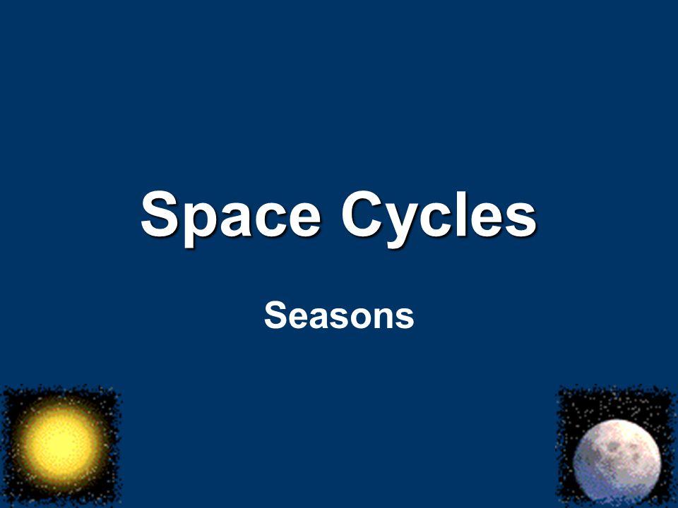 Space Cycles Seasons