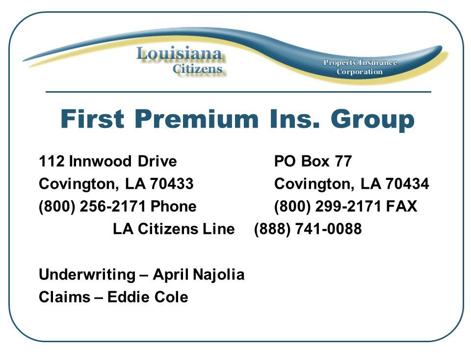 First Premium Ins.