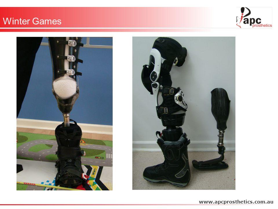 Winter Games www.apcprosthetics.com.au