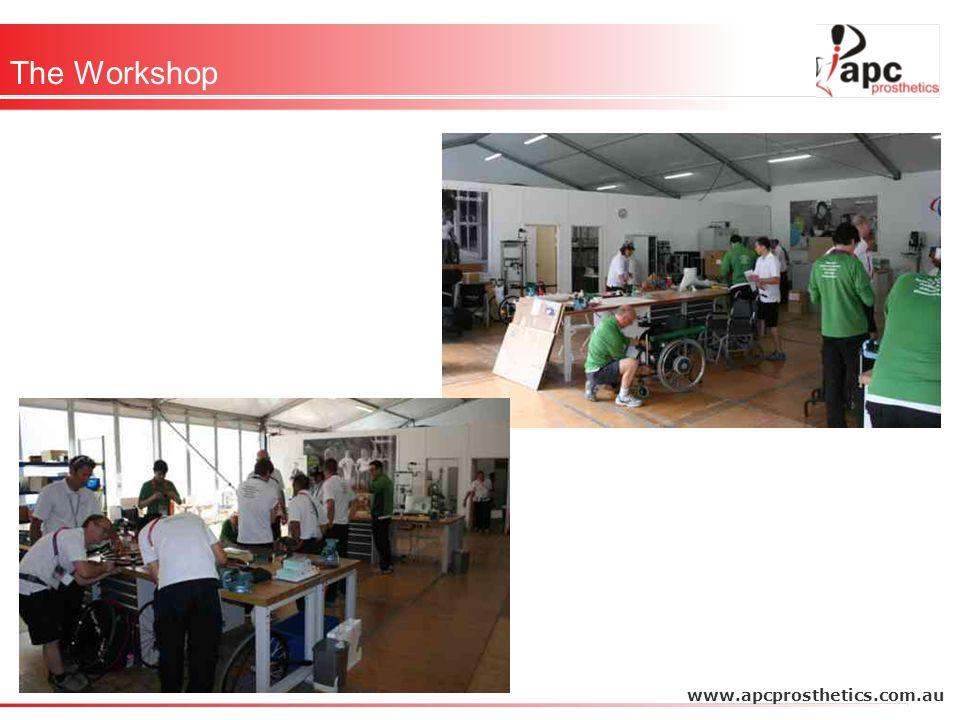 Thank You Otto Bock APC (Aust Paralympic Committee) AIS APC Prosthetics