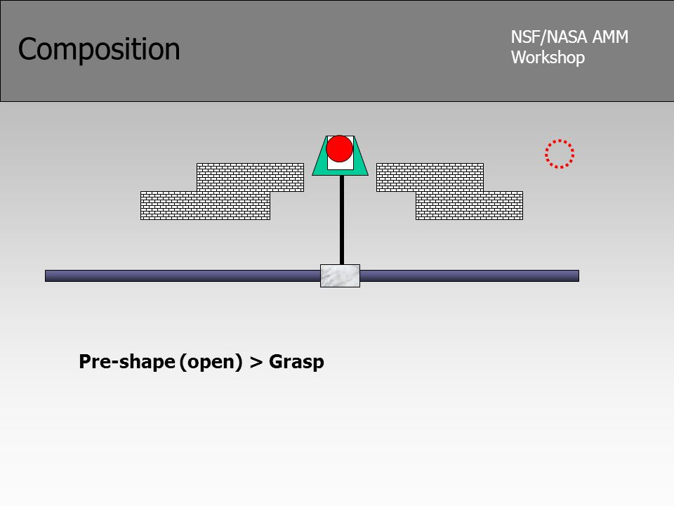 NSF/NASA AMM Workshop Composition Pre-shape (open) > Grasp