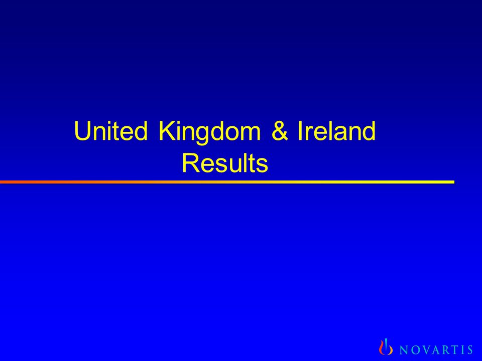 United Kingdom & Ireland Results