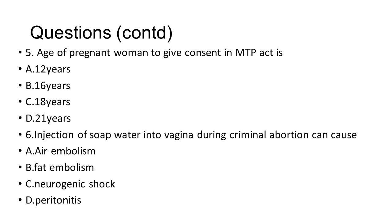 Questions (contd) 5.