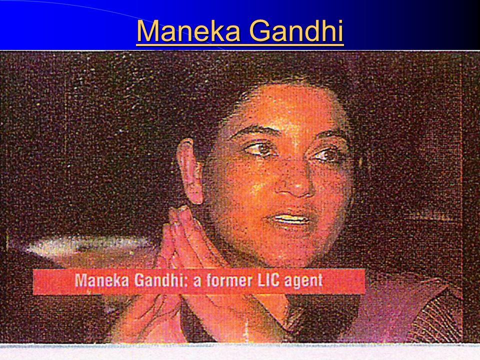 Sonia Gandhi was Insurance Agent