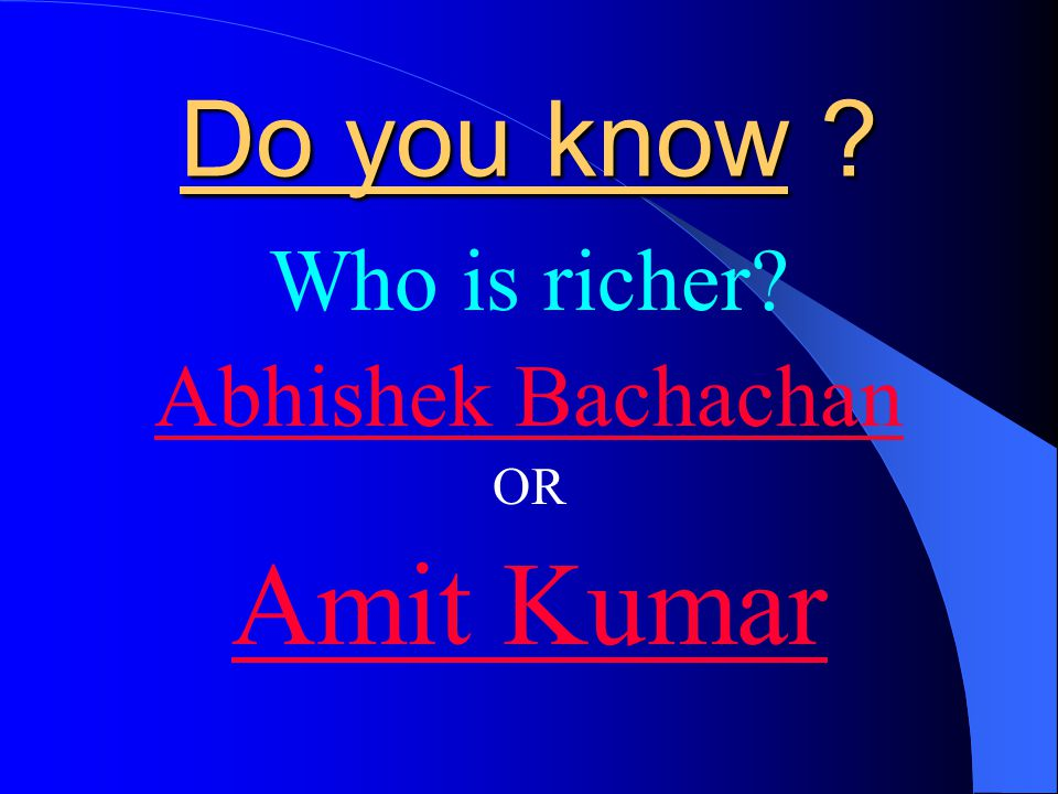 THAT IS THE REASON Why Amit Kumar is richer today than Abhishek Bachachan