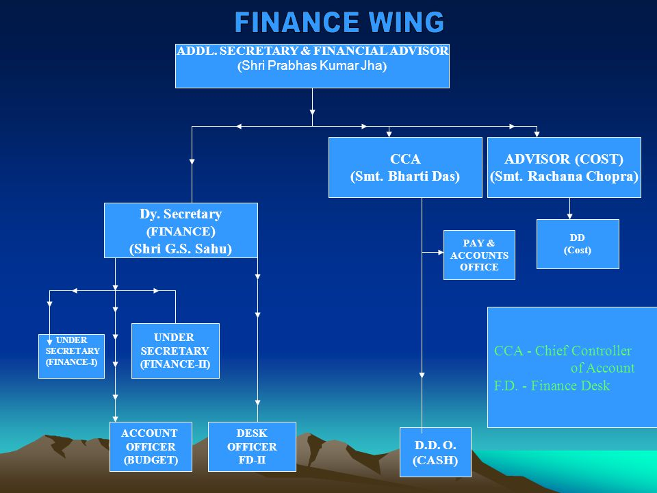 ADDL.SECRETARY & FINANCIAL ADVISOR ( Shri Prabhas Kumar Jha ) ADVISOR (COST) (Smt.