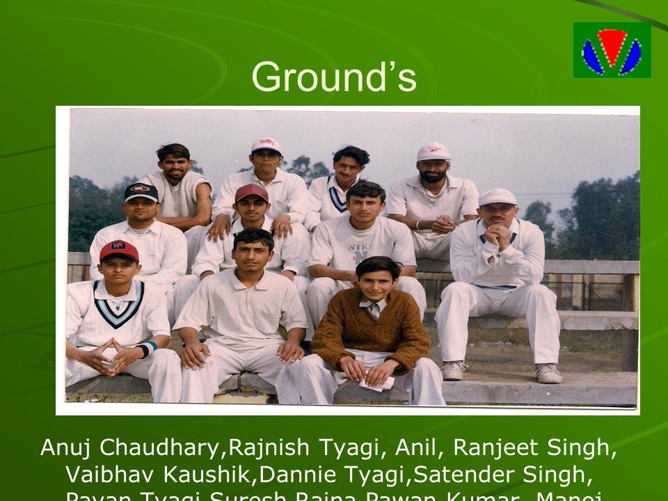 Anuj Chaudhary,Rajnish Tyagi, Anil, Ranjeet Singh, Vaibhav Kaushik,Dannie Tyagi,Satender Singh, Pavan Tyagi,Suresh Raina,Pawan Kumar, Manoj