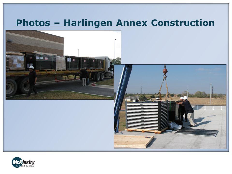 Photos – Harlingen Annex Construction