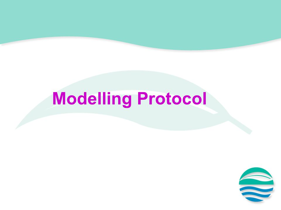 Modelling Protocol