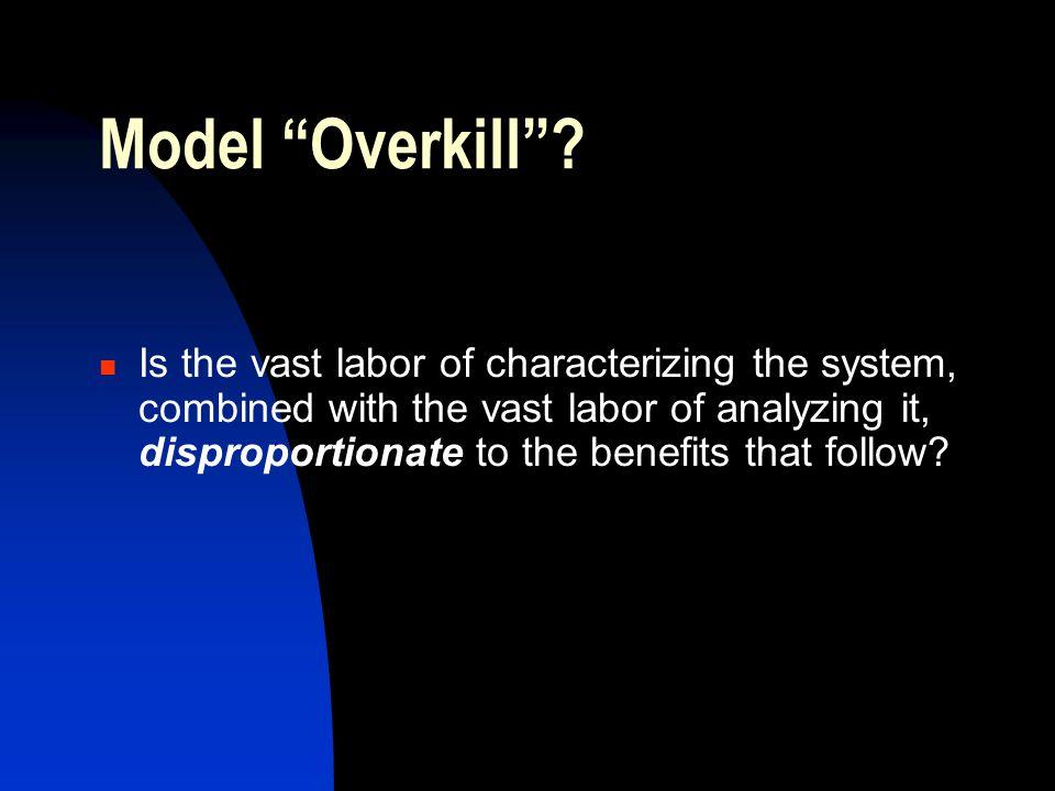 Model Overkill .