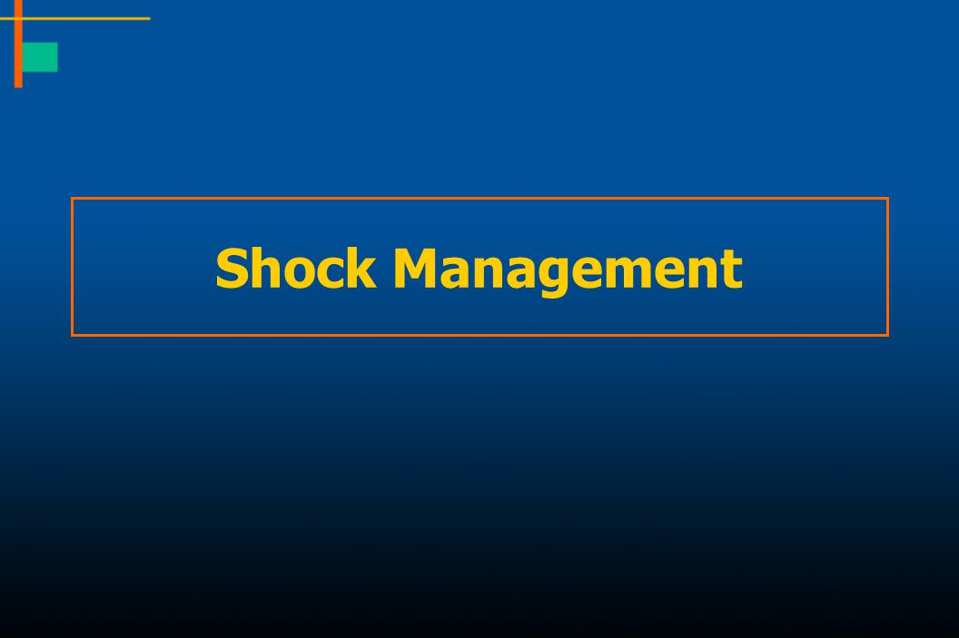 Shock Management