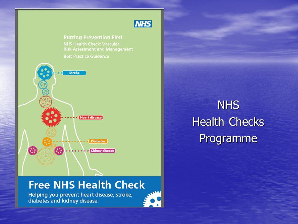 NHS Health Checks Programme