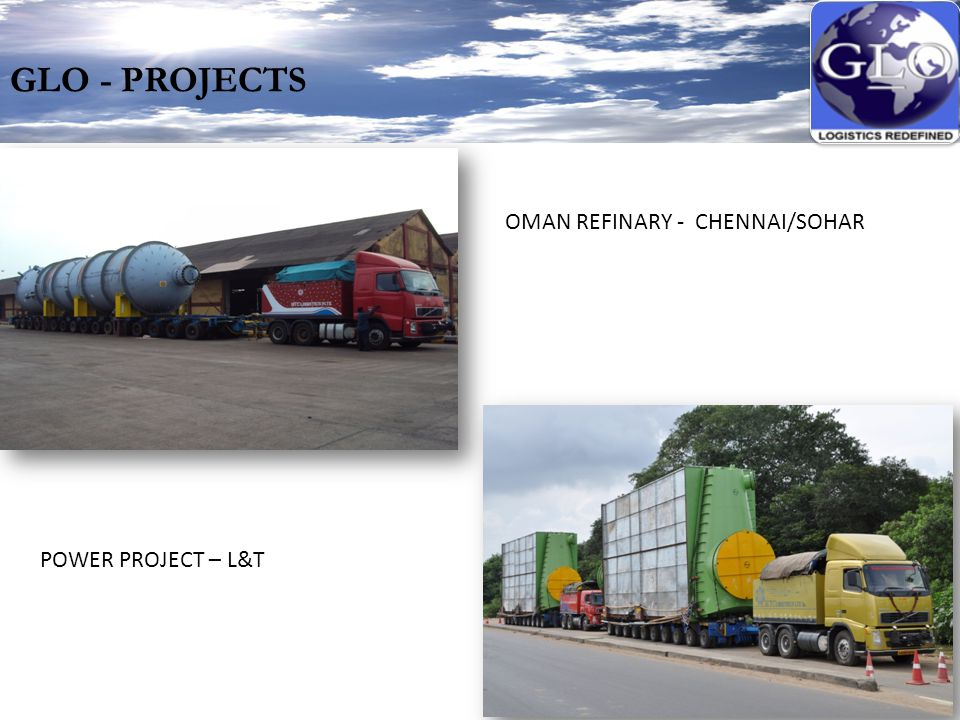 GLO - PROJECTS OMAN REFINARY - CHENNAI/SOHAR POWER PROJECT – L&T