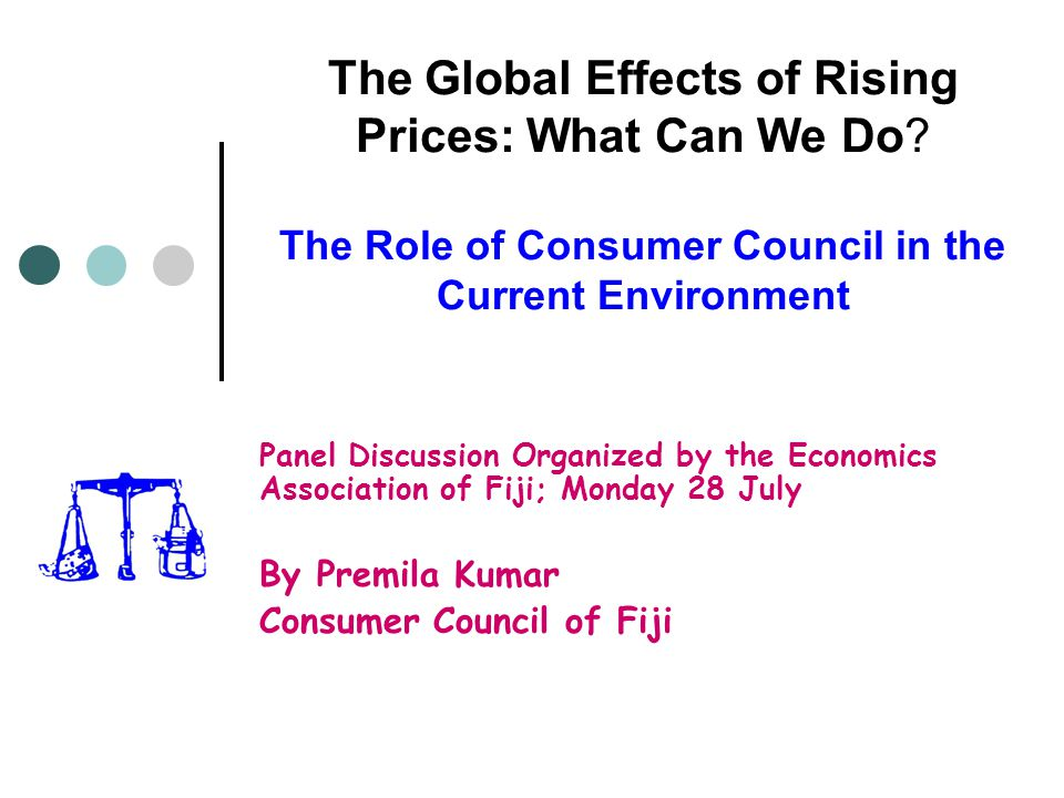 The Global Effects of Rising Prices: What Can We Do.