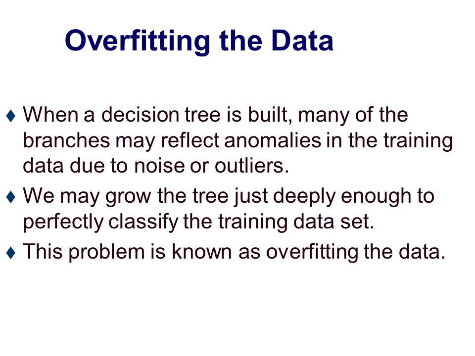 Underfitting and Overfitting Overfitting Underfitting: when model is too simple, both training and test errors are large.