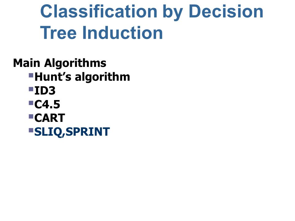 Decision tree classifiers are very popular.WHY.