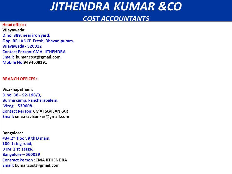 Contacts Head office : Vijayawada: D.no: 389, near iron yard, Opp.