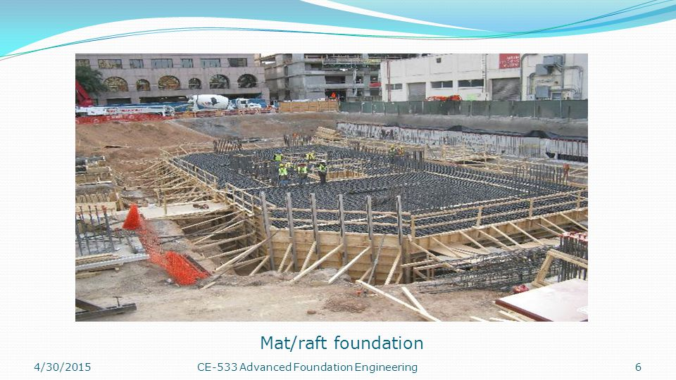 Types of Mat Foundations 4/30/20157CE-533 Advanced Foundation Engineering