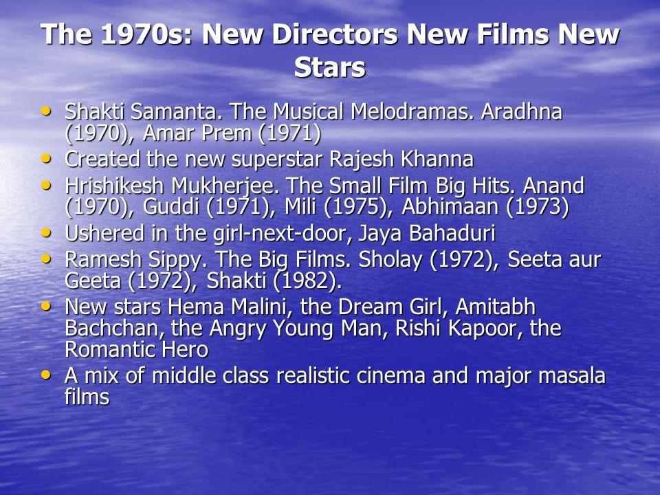 The 1970s: New Directors New Films New Stars Shakti Samanta.