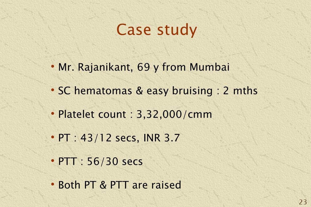 23 Case study Mr.